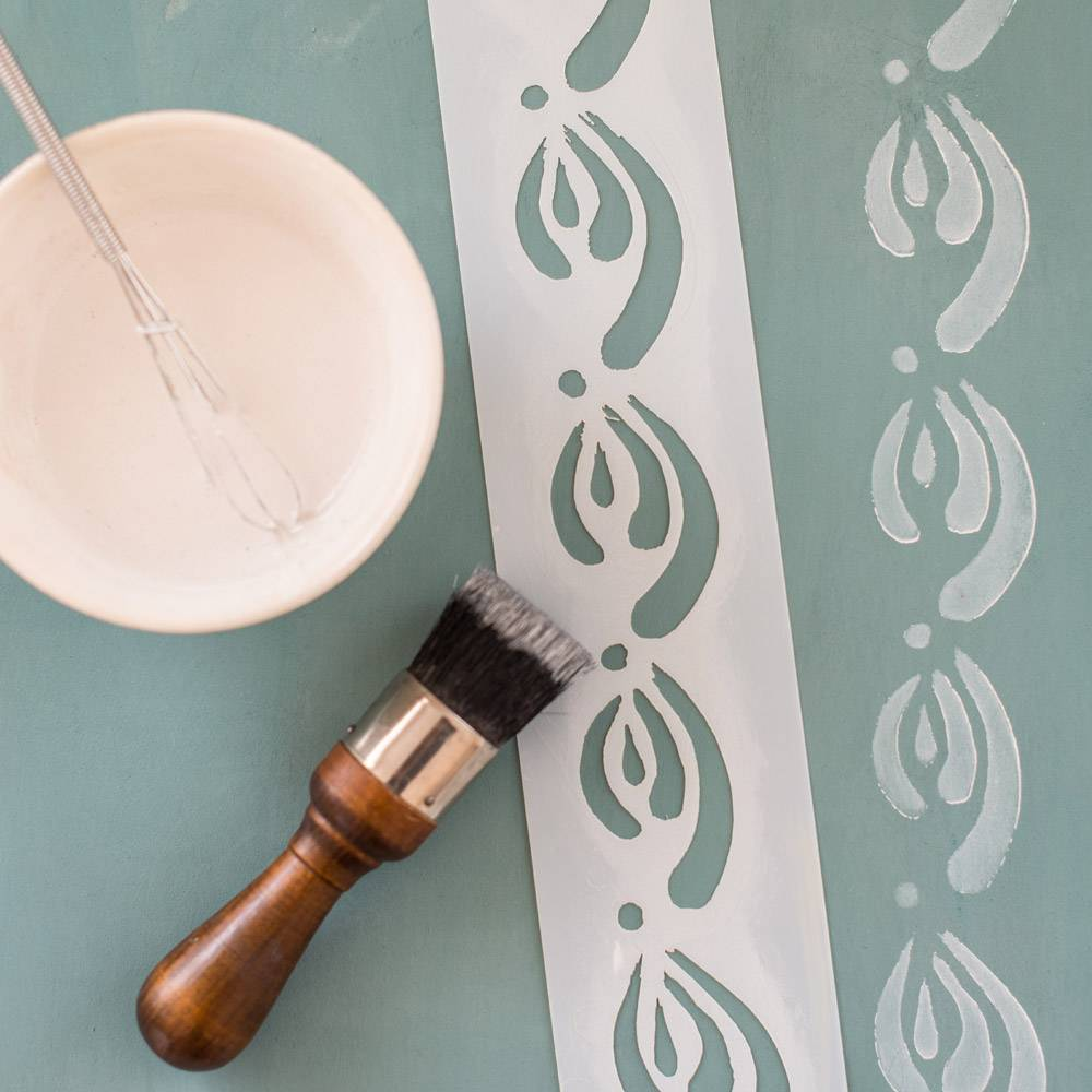 Miss Mustard Seeds Milk Paint MMSMP - Stencil - Kimbrough
