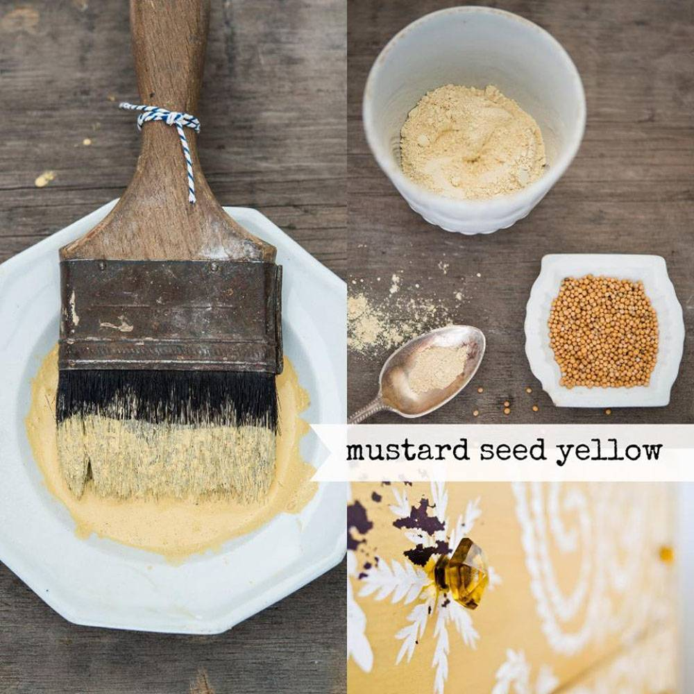 Miss Mustard Seeds Milk Paint MMSMP - Mustard Seed Yellow - 230 gr