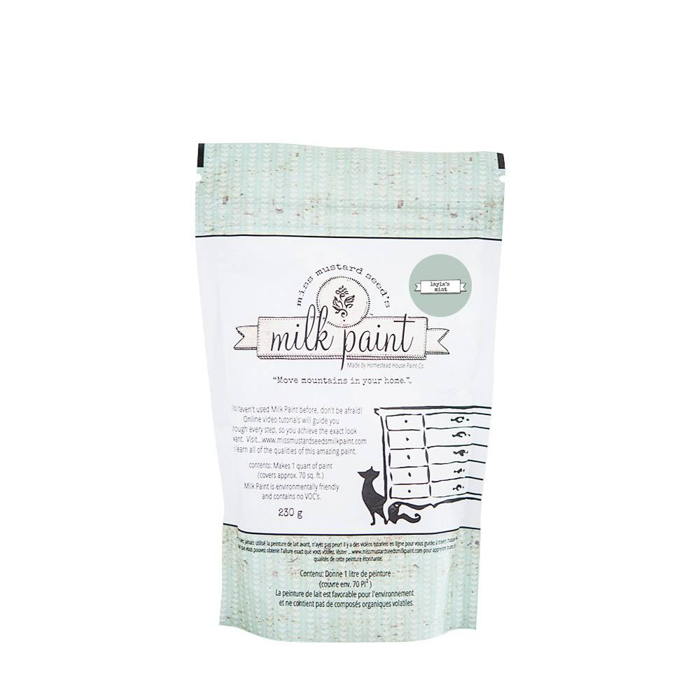 Miss Mustard Seeds Milk Paint MMSMP - Layla's Mint - 230 gr
