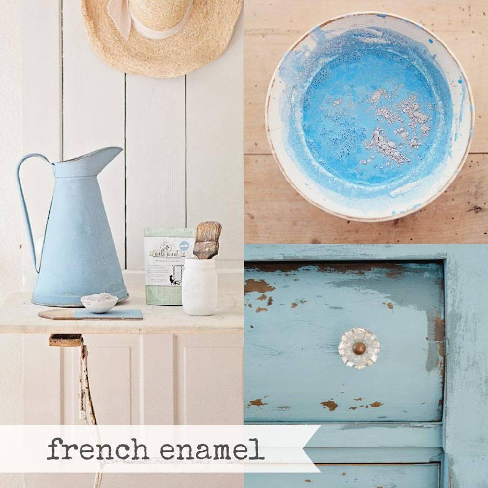 Miss Mustard Seeds Milk Paint MMSMP - French Enamel - 460 gr