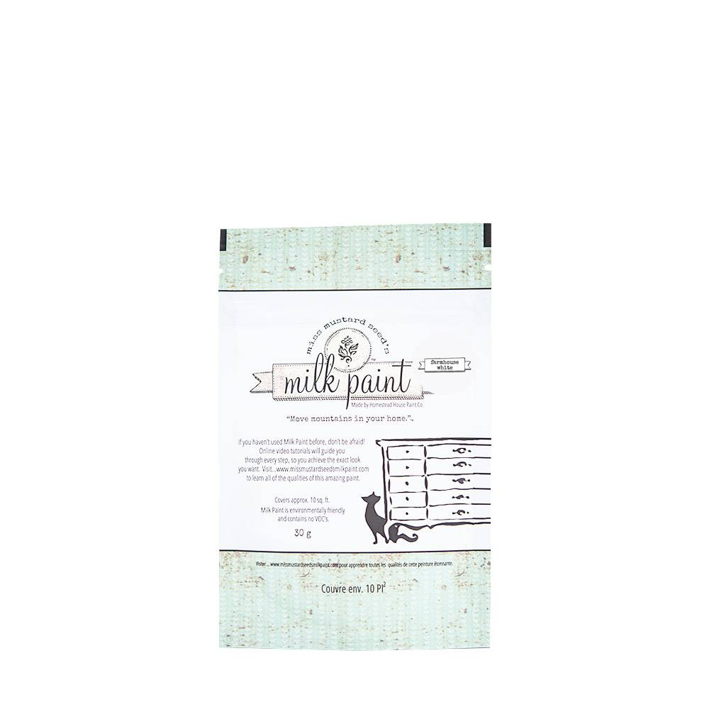 Miss Mustard Seeds Milk Paint MMSMP - Farmhouse White - 30 gr