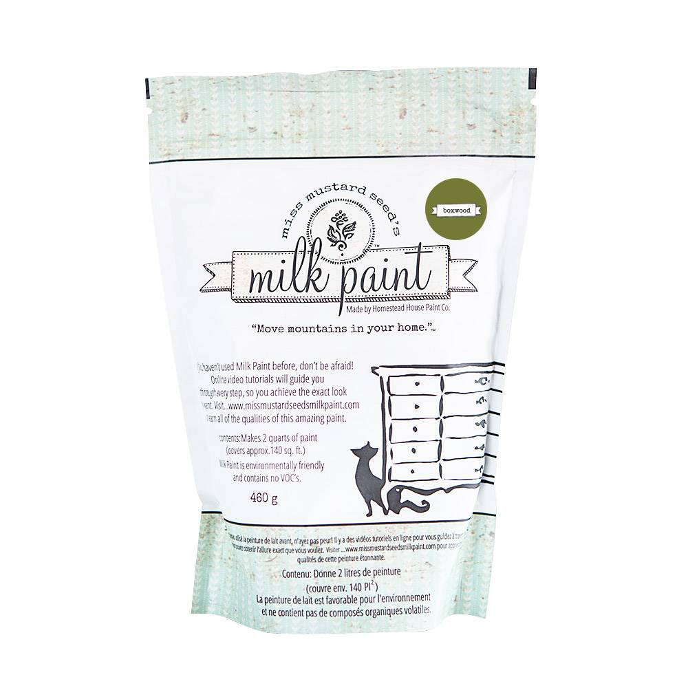 Miss Mustard Seeds Milk Paint MMSMP - Boxwood - 460 gr
