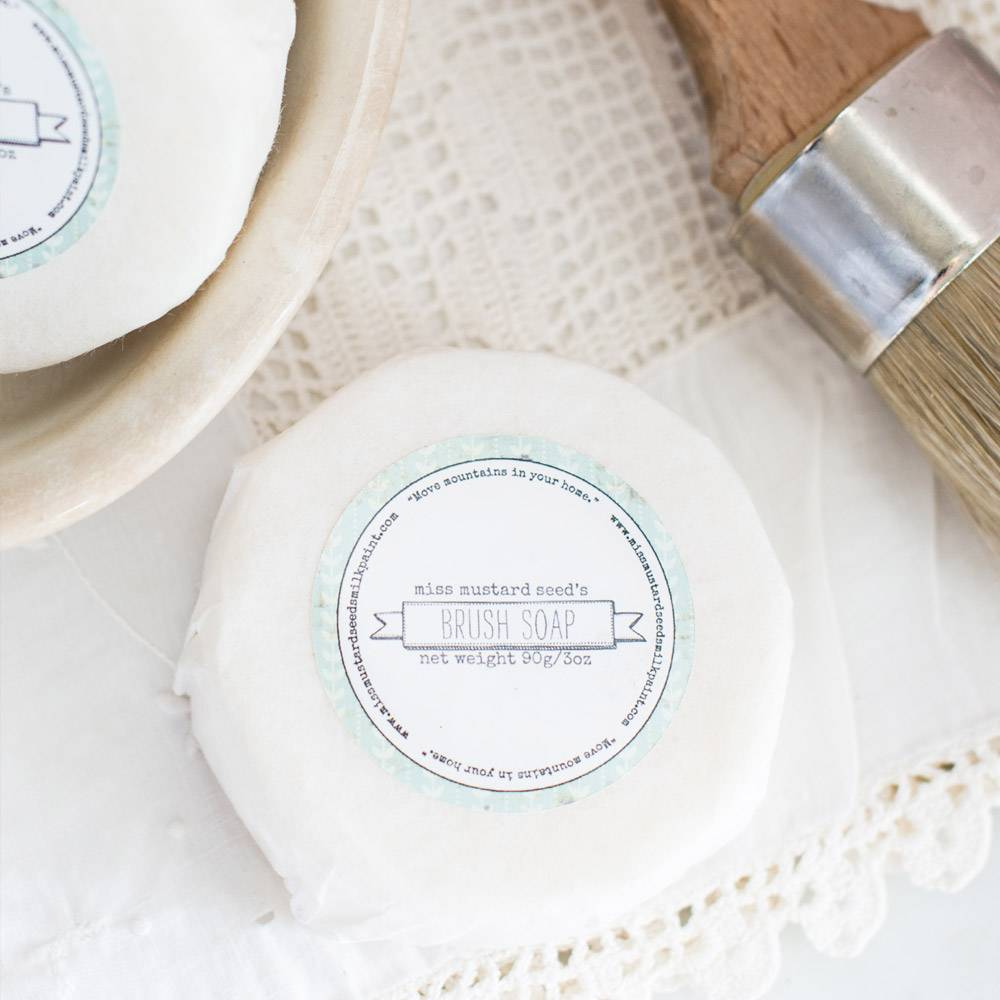 Miss Mustard Seeds Milk Paint MMSMP - Brush Soap
