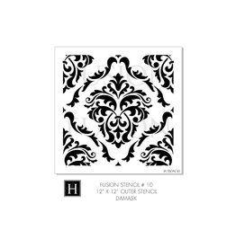 Fusion Mineral Paint Fusion - Stencil 10 - Damask