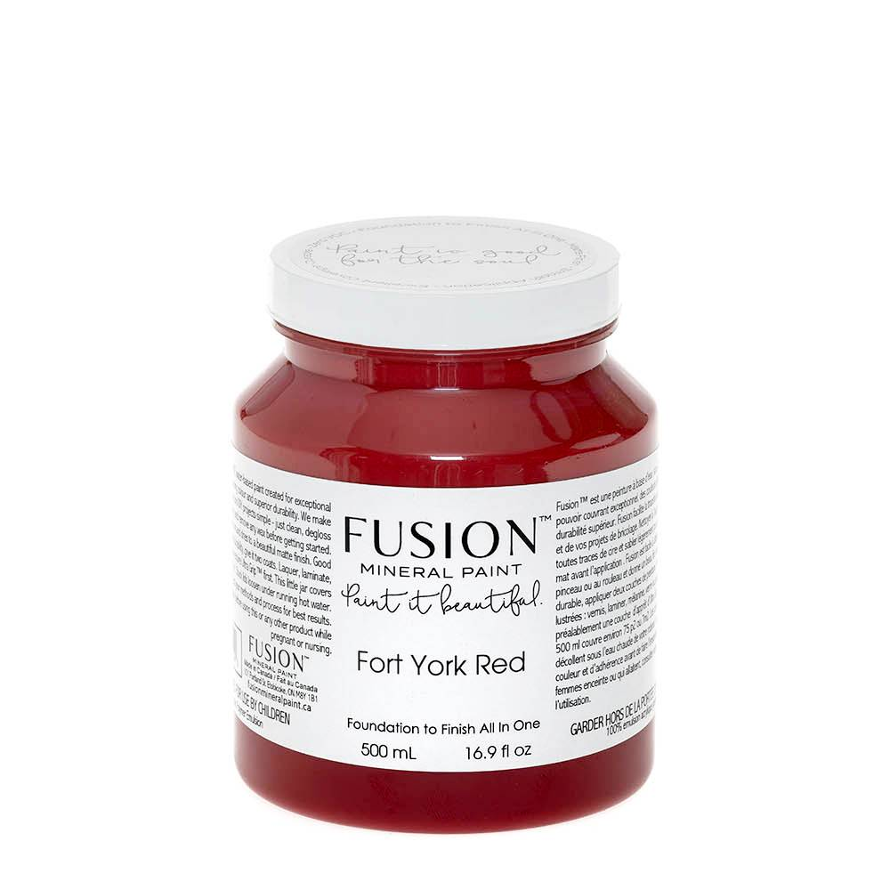 Fusion Mineral Paint Fusion - Fort York Red - 500ml