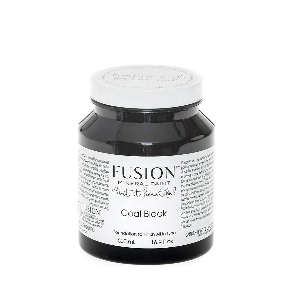 Fusion Mineral Paint Fusion - Coal Black - 500ml