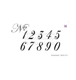 Muddaritaville MU - Italic Numbers