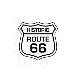 Funky Junk Funky Junk Stencils - Route 66