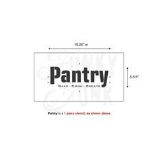 Funky Junk Funky Junk Stencils - Pantry