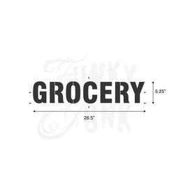 Funky Junk Funky Junk Stencils - Grocery