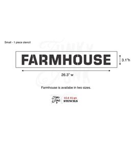 Funky Junk Funky Junk Stencils - Farmhouse Small