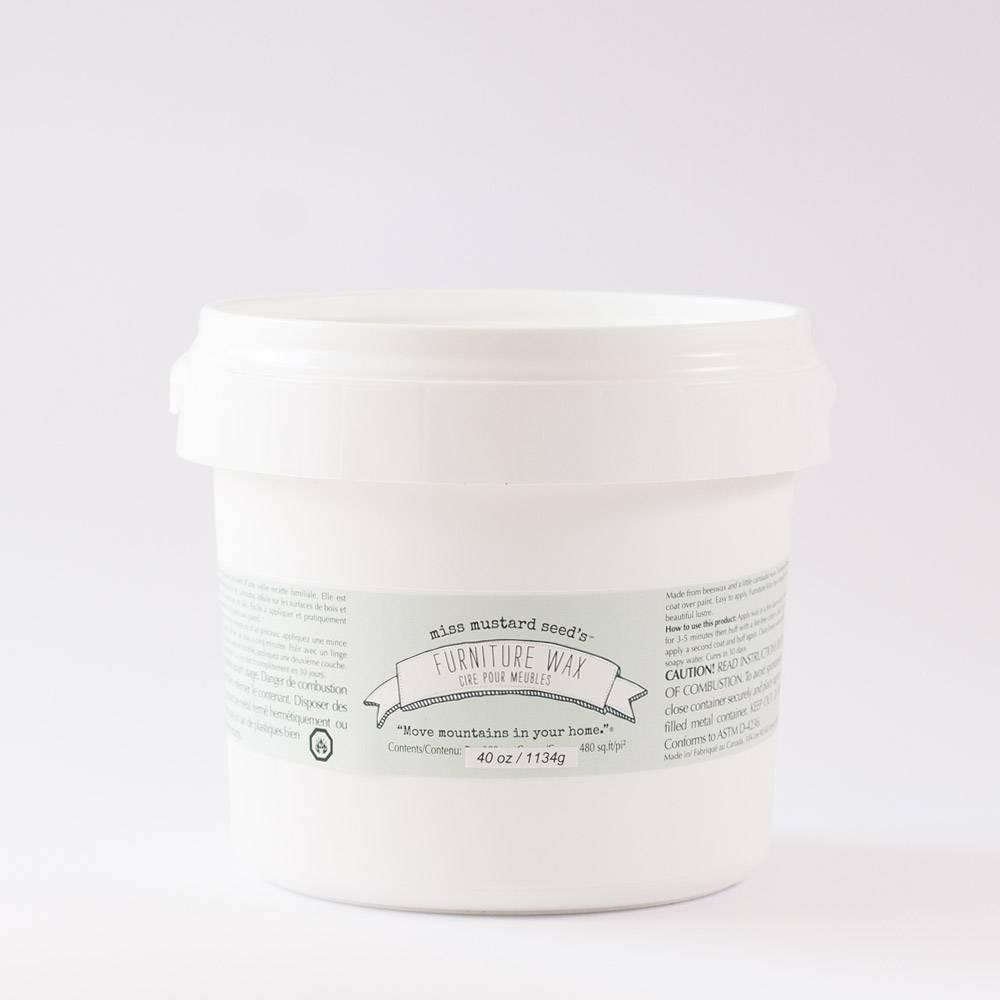 Miss Mustard Seeds Milk Paint MMSMP - Clear Furniture Wax - 1134 gr