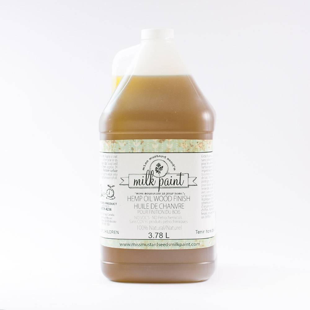 Miss Mustard Seeds Milk Paint MMSMP - Hemp Oil - 3,8 l