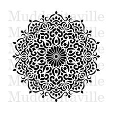 Fusion Mineral Paint Fusion - Stencil 30 - Mandala
