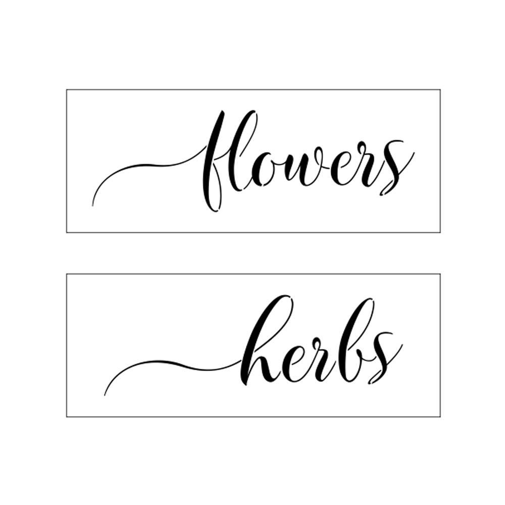 Muddaritaville MU - Flowers & Herbs - 2pcs