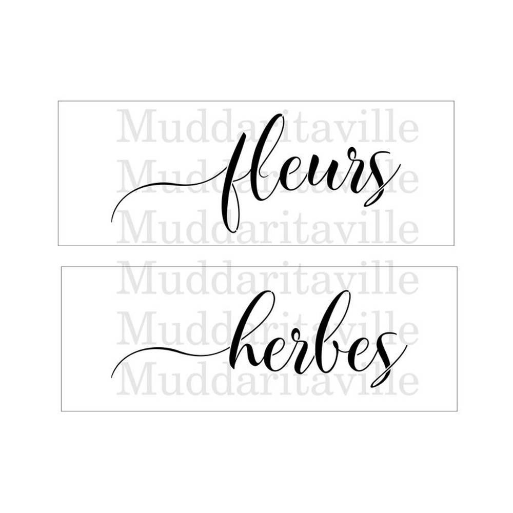 Muddaritaville MU - Fleurs & Herbes - 2pcs