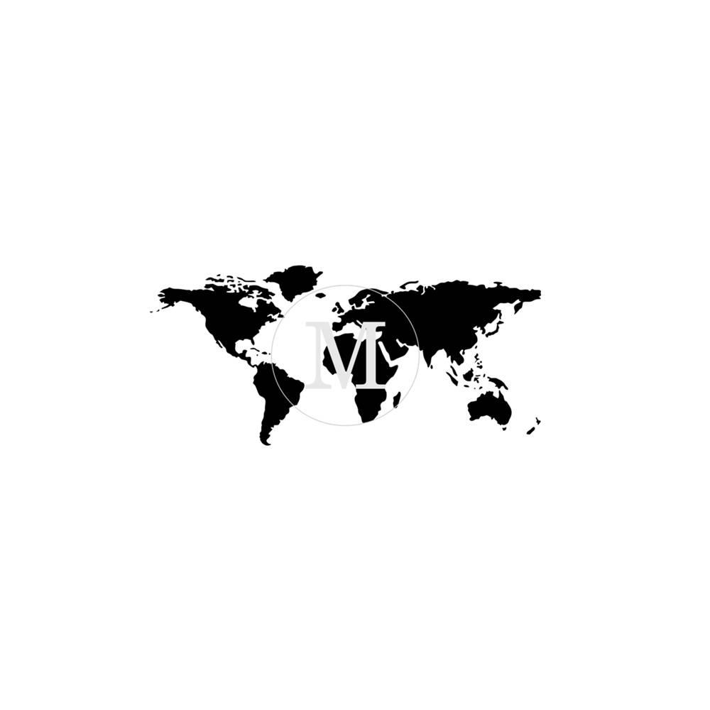 Muddaritaville MU - World Map - Small