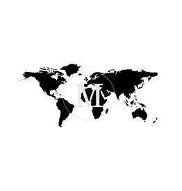 Muddaritaville MU - World Map - Medium
