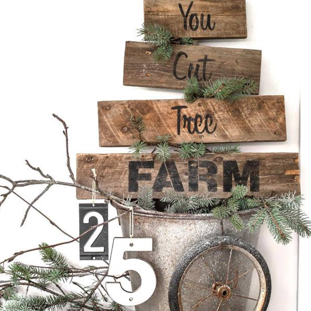Funky Junk Funky Junk Stencils - You cut tree farm