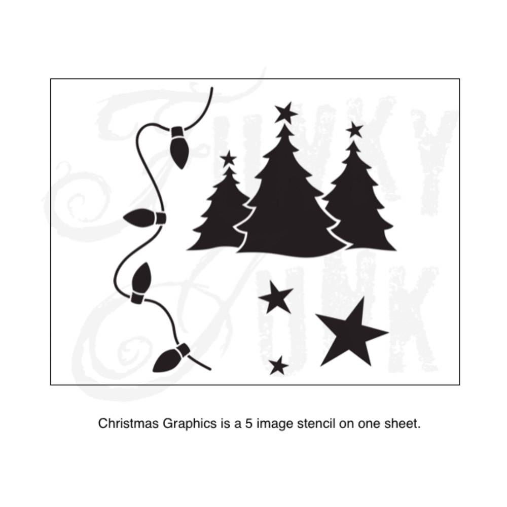 Funky Junk Funky Junk stencils - Christmas graphics