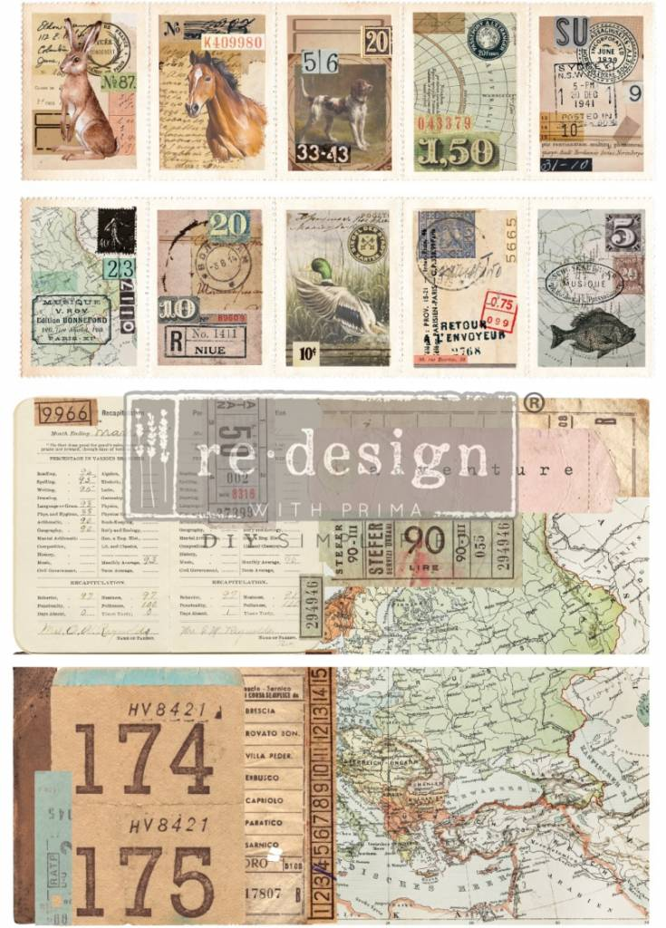 Redesign with Prima Redesign - Transfer - Ephemera Collector