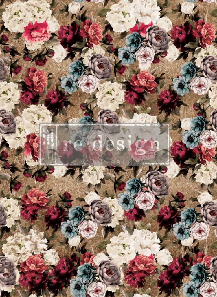 Redesign with Prima Redesign - Transfer - Tea Rose Garden