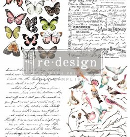 Redesign with Prima Redesign - Transfer - Parisian Butterflies