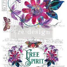 Redesign with Prima Redesign - Decor Transfer - Passion Flower