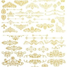 Redesign with Prima Redesign - Gold Transfer - Gilded Ornate Flourishes