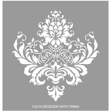 Redesign with Prima Redesign - 3D stencil - Stella Flourish