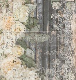 Redesign with Prima Redesign - Decor Transfer - White Fleur