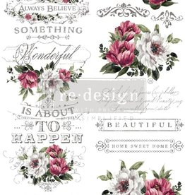 Redesign with Prima Redesign - Decor Transfer - Hopeful Wishes