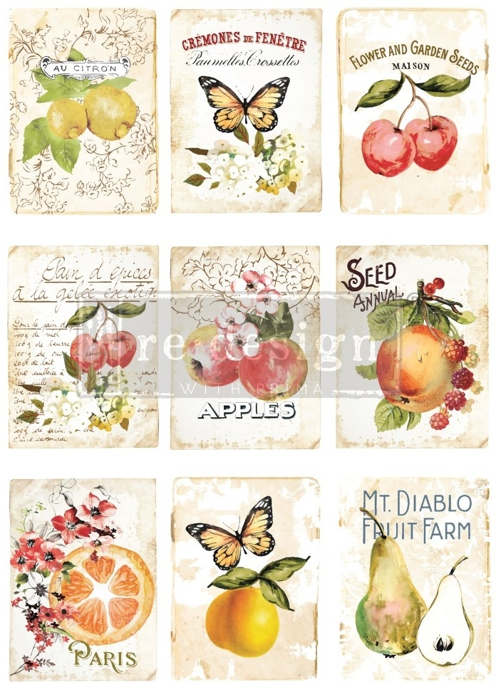 Redesign with Prima Redesign - Decor Transfer - Sweet Apricot