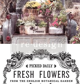 Redesign with Prima Redesign - Decor Transfer - Fresh Flowers