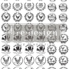 Redesign with Prima Redesign - Knob Transfer - Farmhouse Delight