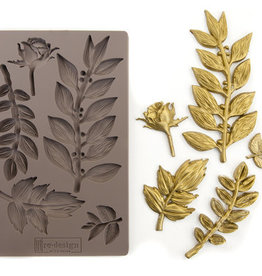 Redesign with Prima Redesign - Mould - Leafy Blossoms