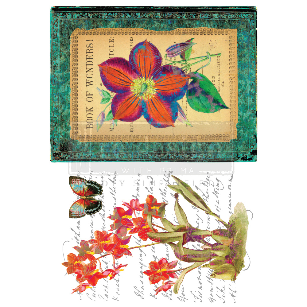 Redesign with Prima Redesign - Decor Transfer - Wondrous Flora