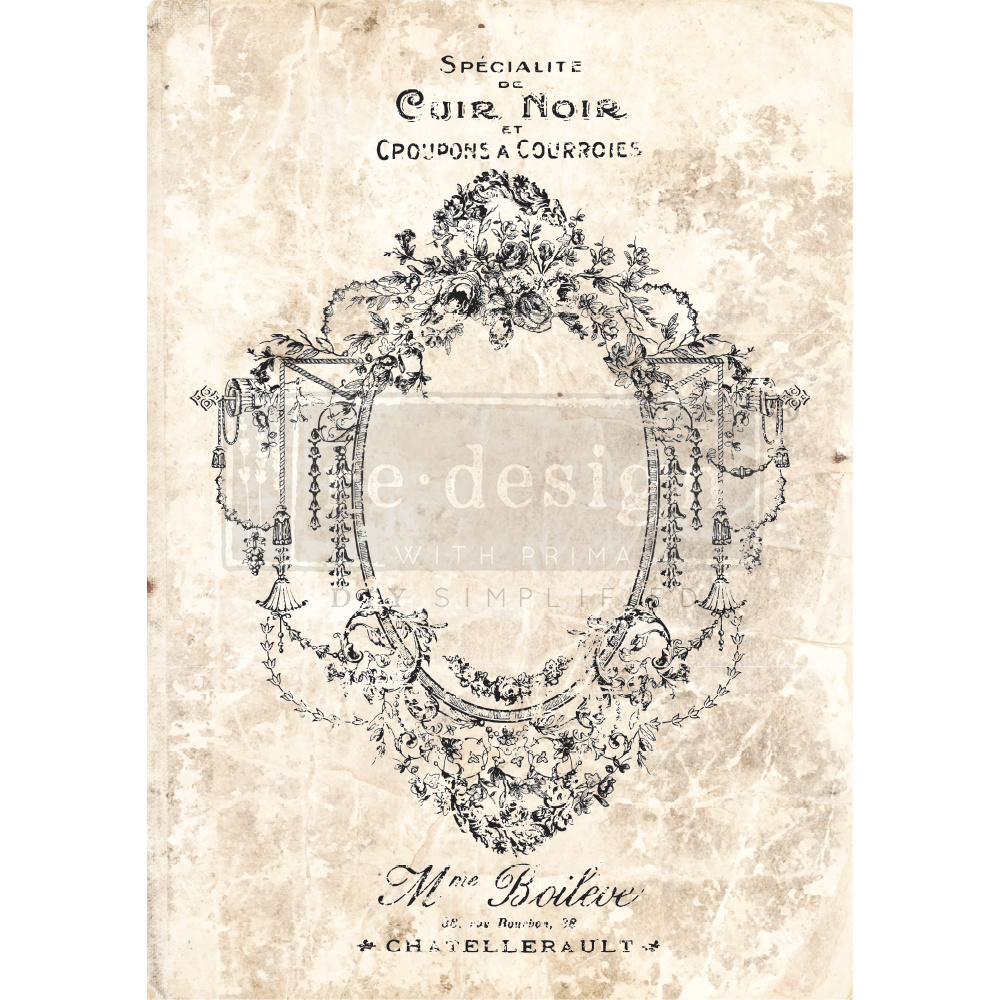 Redesign with Prima Redesign - Decor Transfer - Antique Imprint