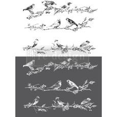 Redesign with Prima Redesign - Decor Transfer - Birds & Berries