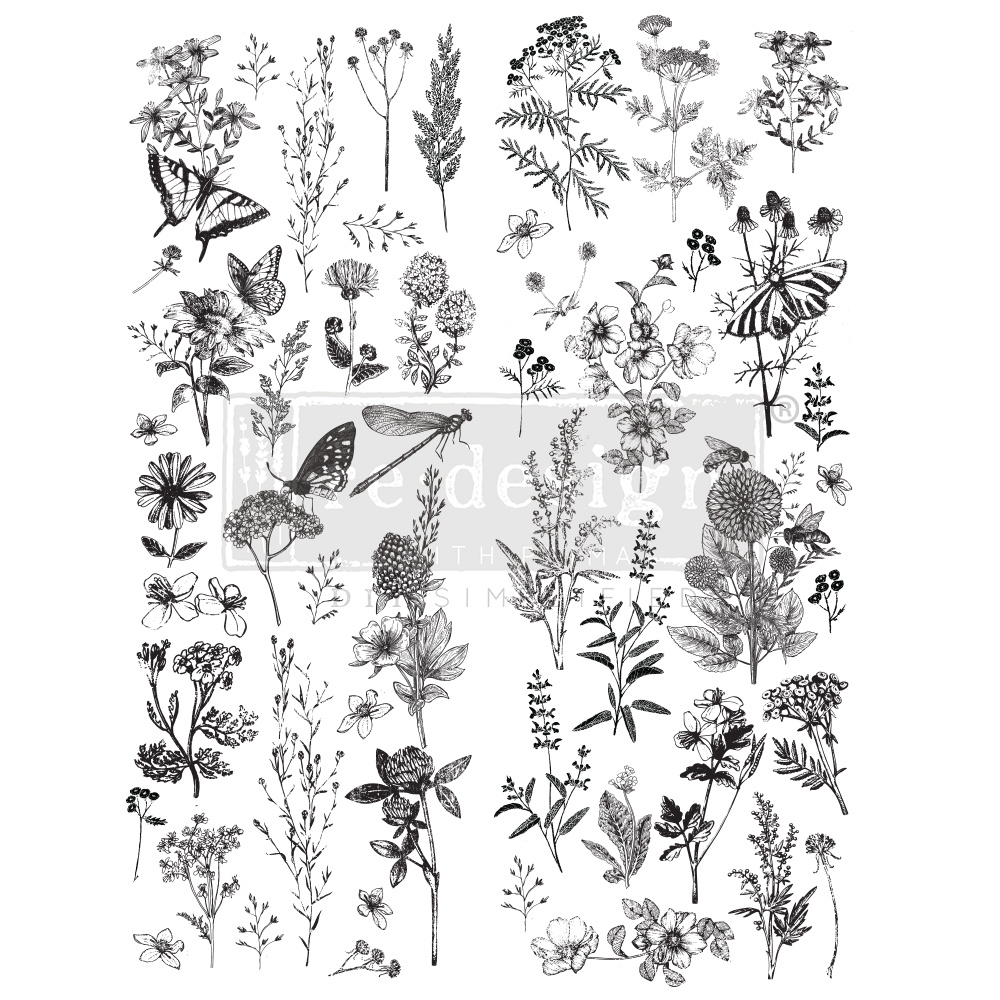 Redesign with Prima Redesign - Decor Transfer - Spring Meadow Life