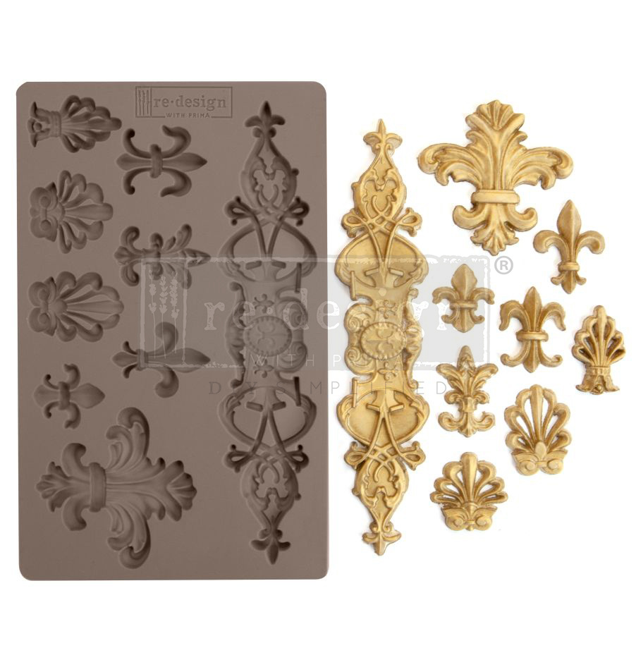 Redesign with Prima Redesign - Mould - Fleur De Lis