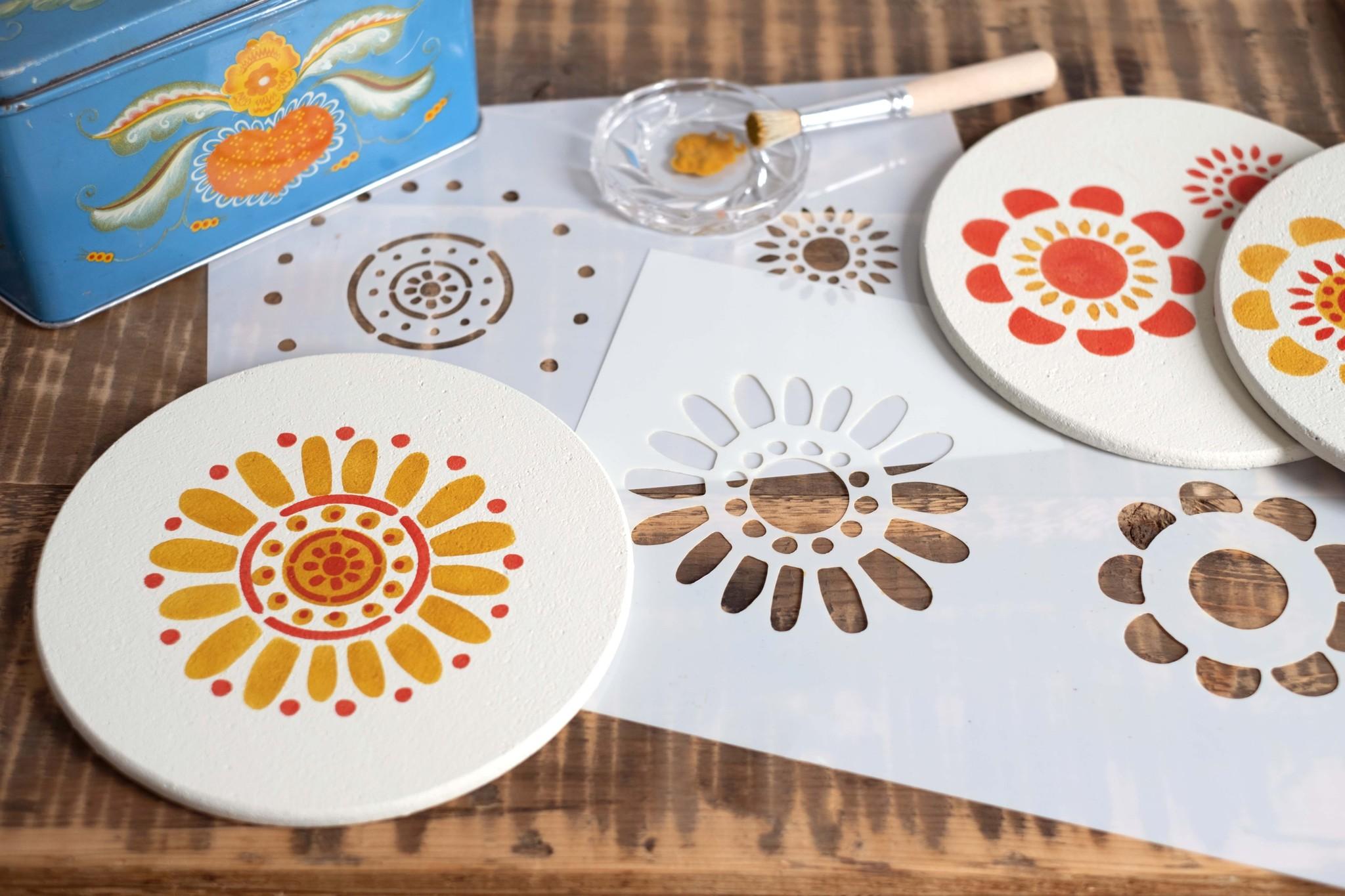 Dala Muses Dala Muses - Folk Art Flowers