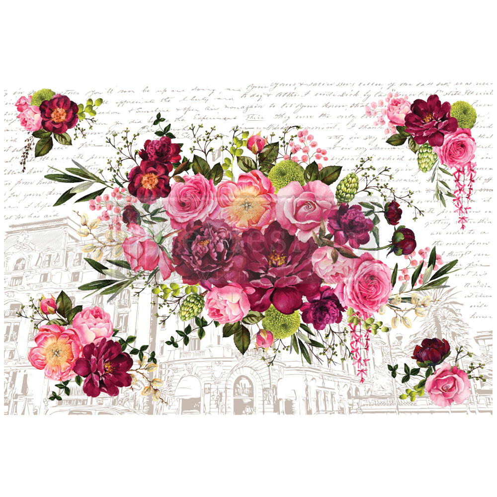 Redesign with Prima Redesign - Decor Transfer - Royal Burgundy