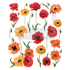 Redesign with Prima Redesign - Decor Transfer - Poppy Gardens