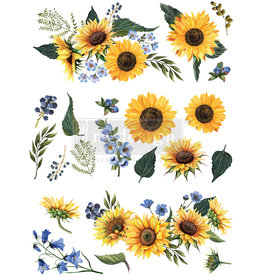 Redesign with Prima Redesign - Decor Transfer - Sunflower Fields