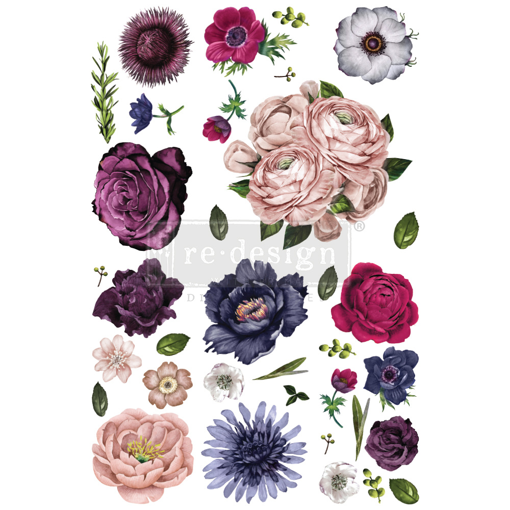 Redesign with Prima Redesign - Decor Transfer - Lush Floral II