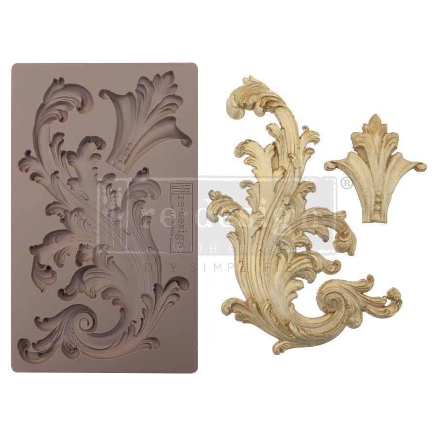 Redesign with Prima Redesign - Mould - Portico Scroll II