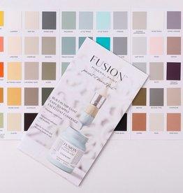 Fusion Mineral Paint Fusion - Colour Card true to colour - 10pcs