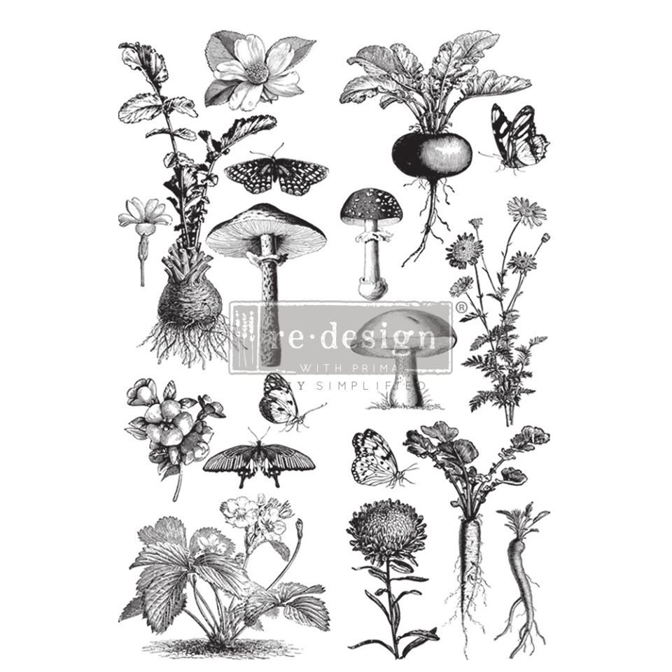 Redesign with Prima Redesign - Decor Transfer - Fungi Forest