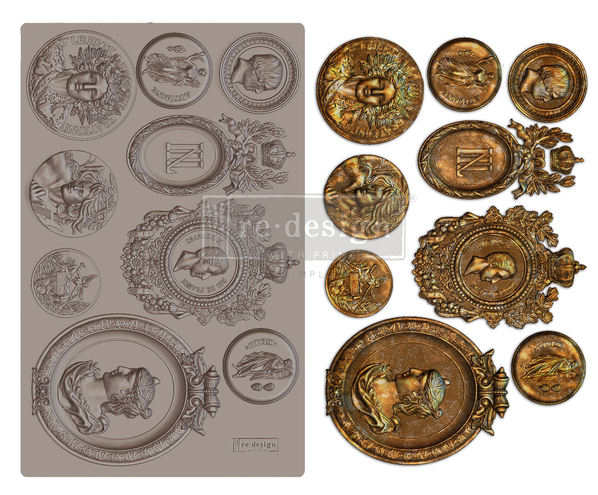 Redesign with Prima Redesign - Mould - Ancient Findings